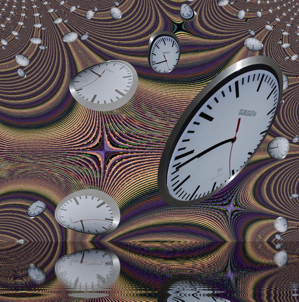 Zeit lässt sich nicht zurückdrehen.....