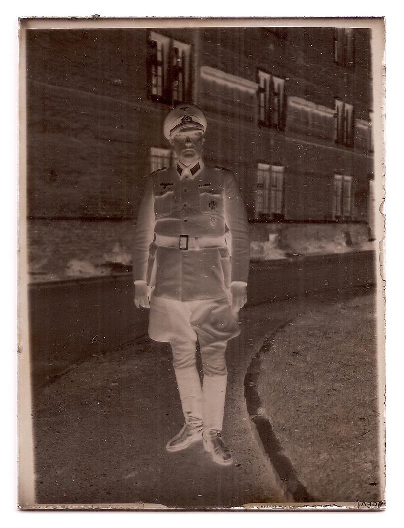 Zeit- und Fotogeschichte - mein Großvater Matthias Frankenhauser als Major im II. WK