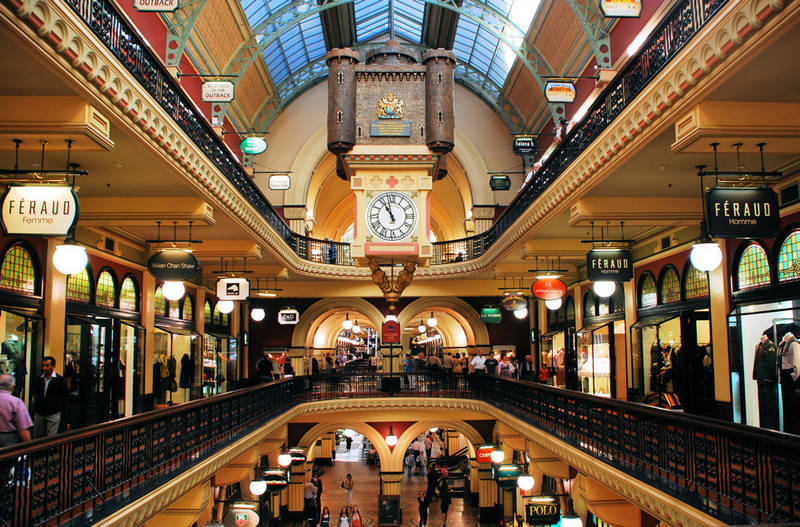 Zeit zum Shopping