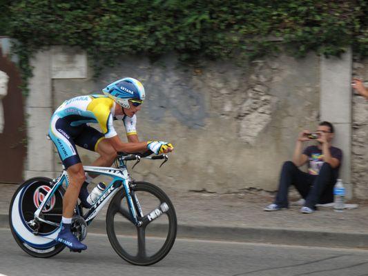 Zeitfahren Tour de France 2009 Annecy