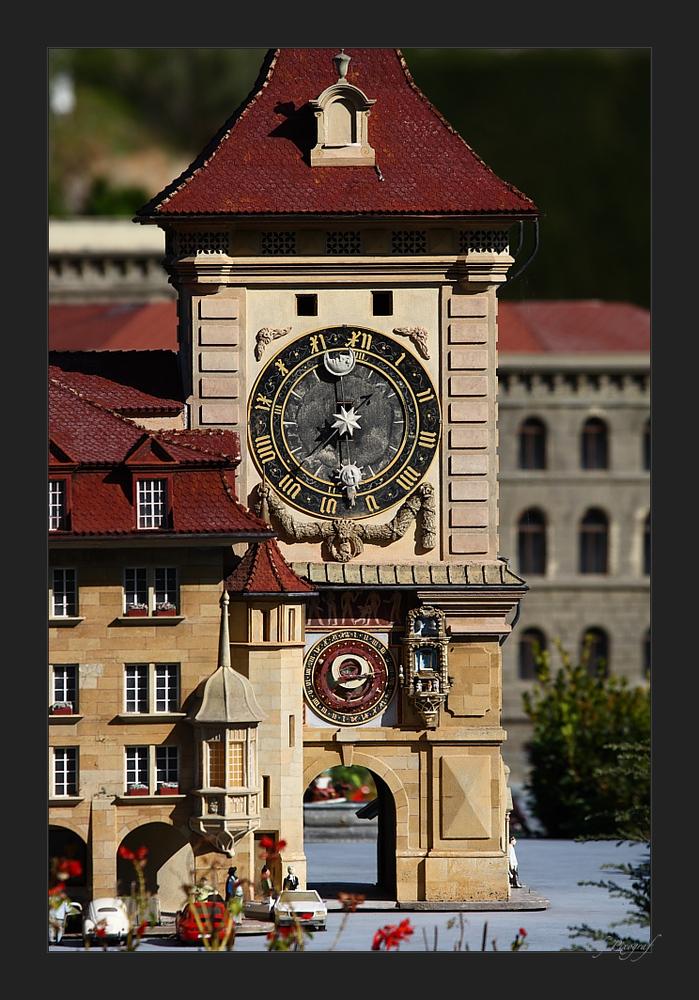 .... Zeitglockenturm in Bern....