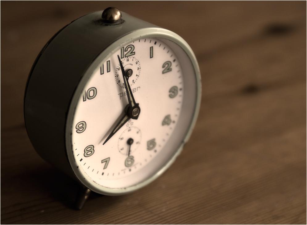 Zeitmesser 2: Schon wieder so spät.
