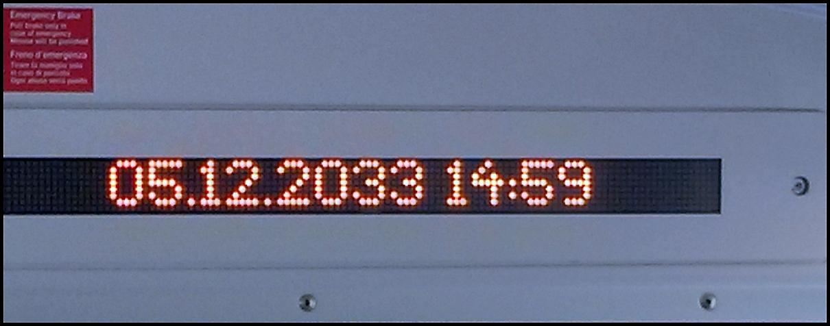 Zeitreise - 05.12.2033