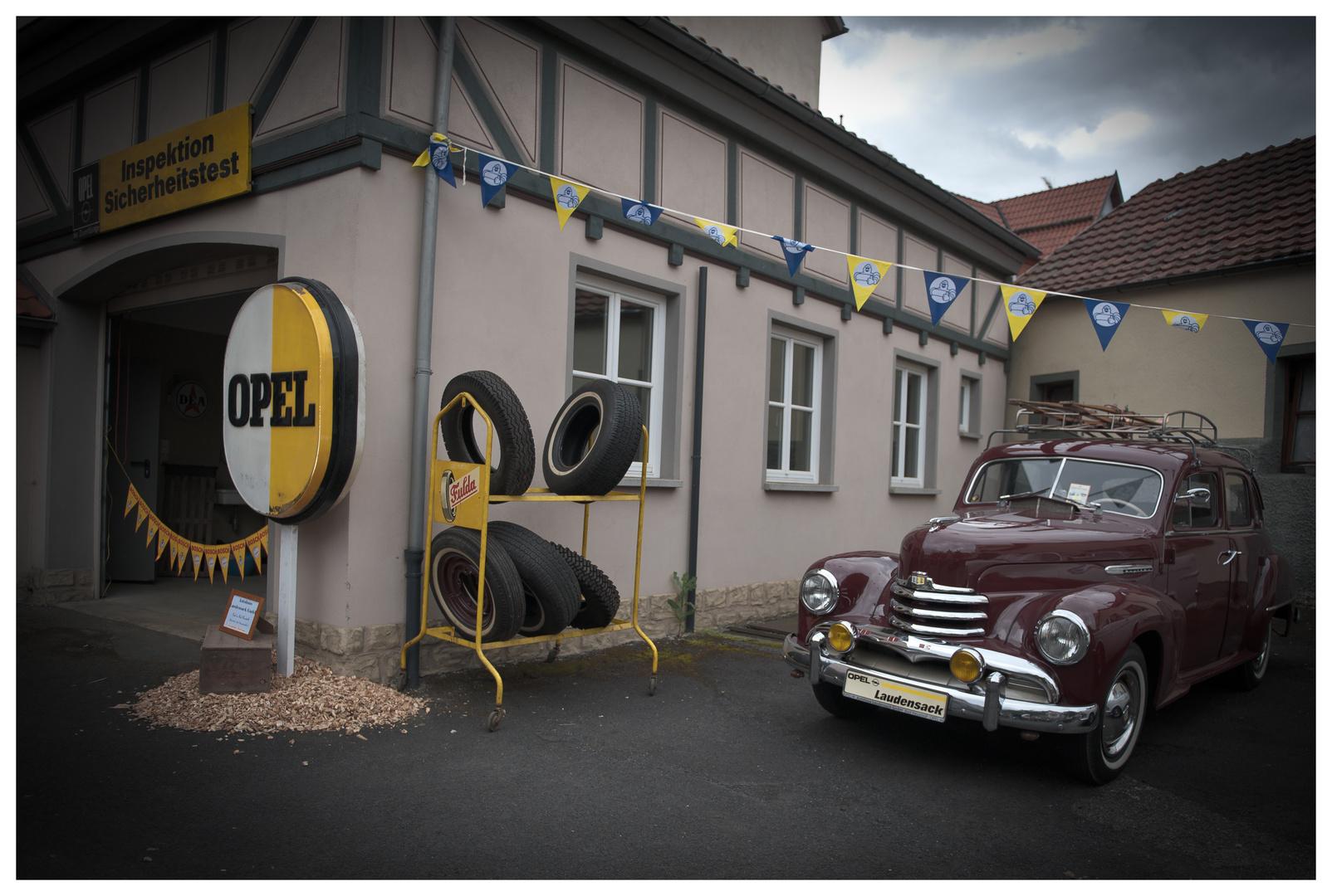 Zeitsprung mit Opel Kapitän