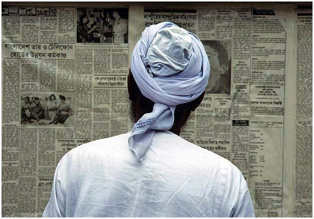 Zeitungslektüre