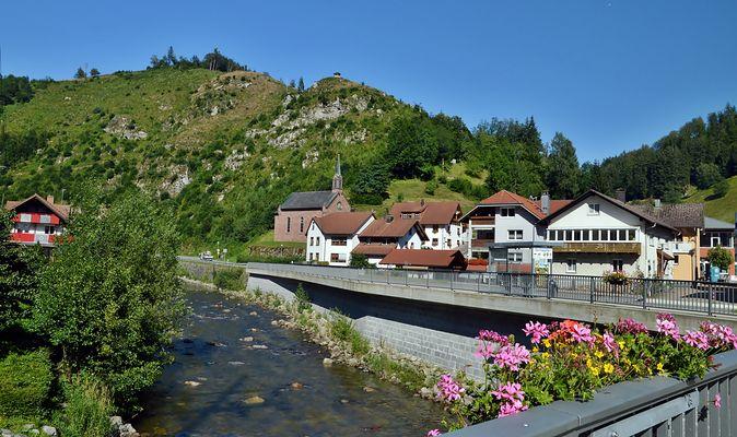 Zeller Bergland - Mambach / an der B 317