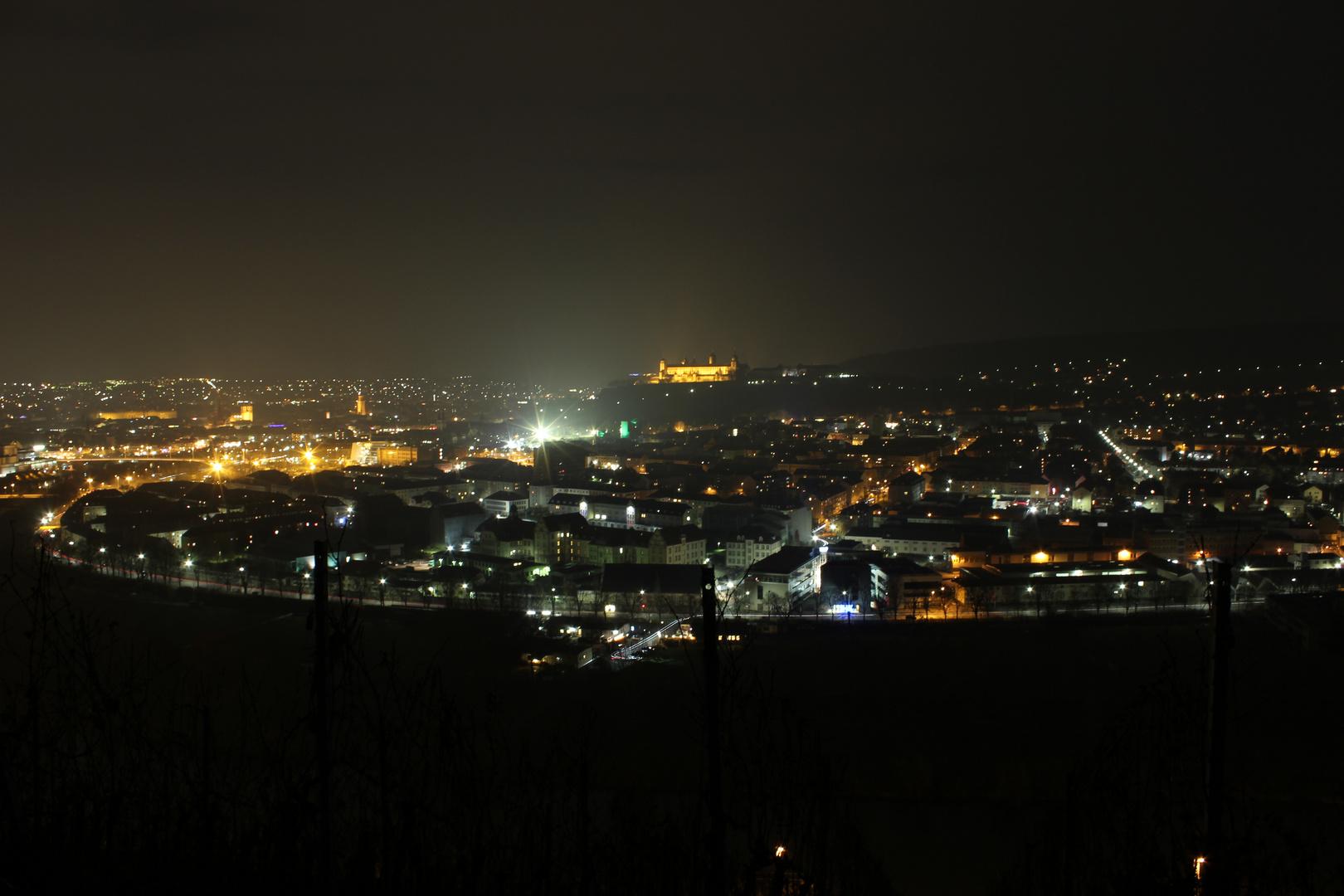 Zellerau in der Nacht