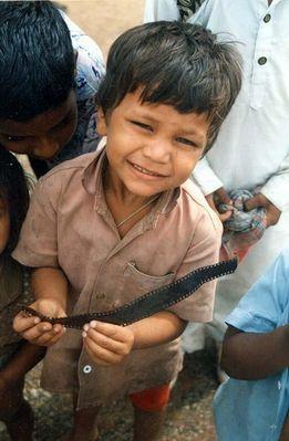 Zelluloid in Kinderhand