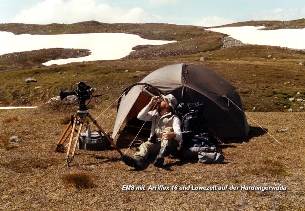 Zelt auf der Hardangervidda