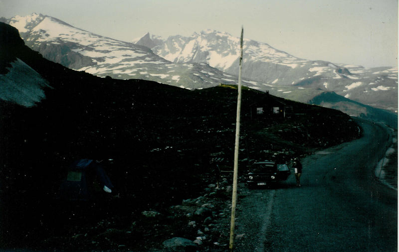 Zeltlager beim Sognefjell