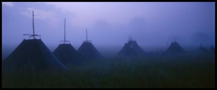 Zeltlager in Brandenburg