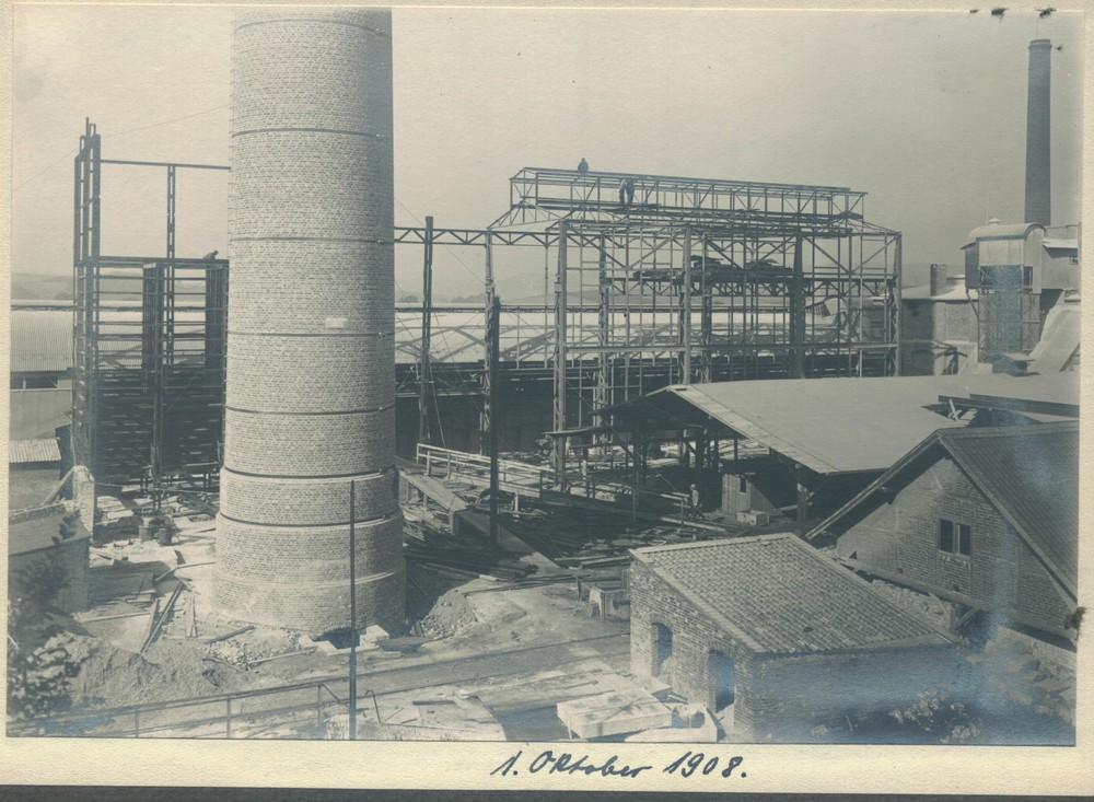 Zementwerk Narjes&Bender 1908 in Kupferdreh