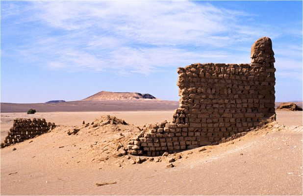 Zentral-Sahara Algerien Salzminen von Tissemt