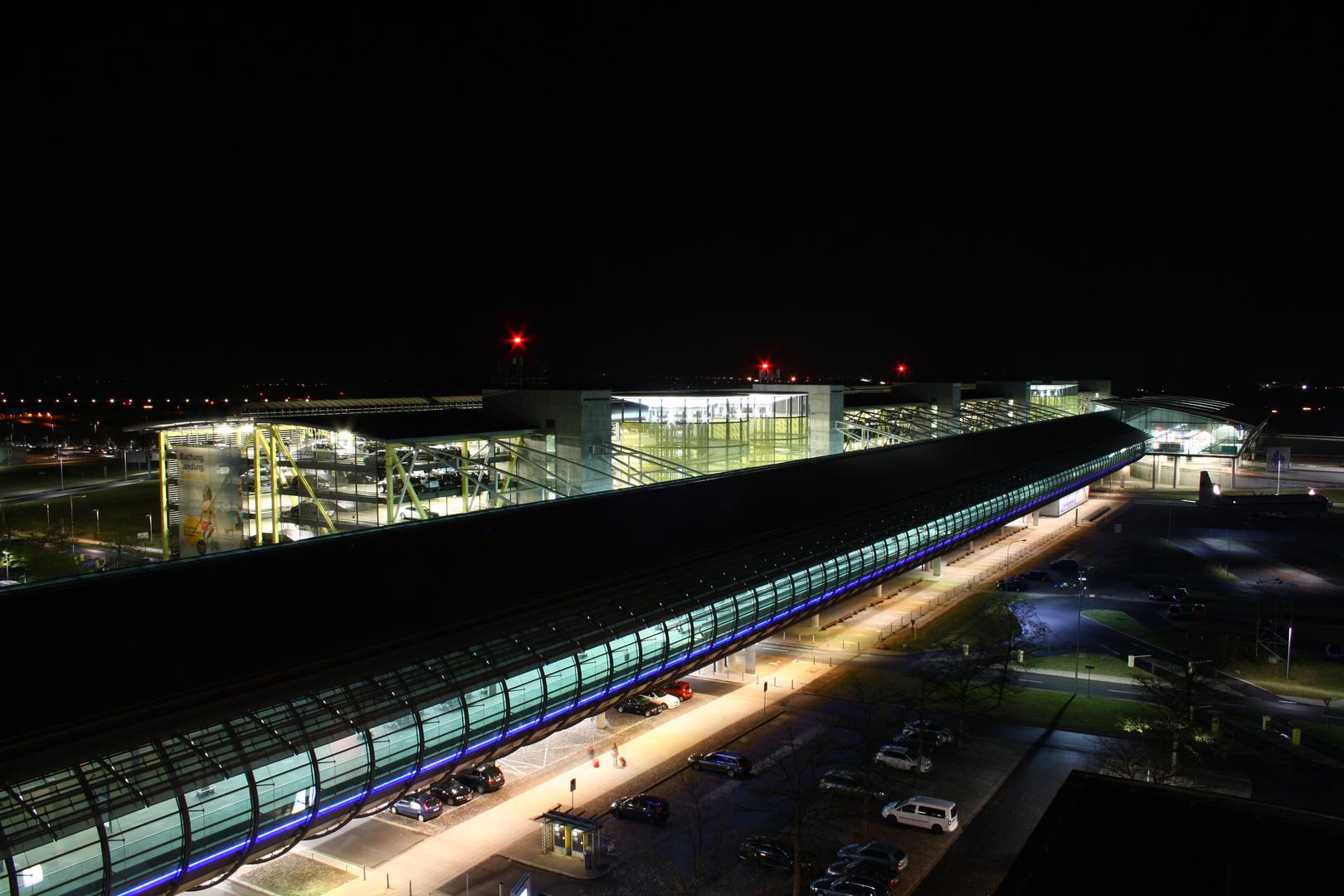 Zentralterminal -Flughafen Leipzig Halle-