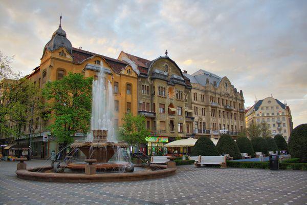 Zentrum von Timisoara