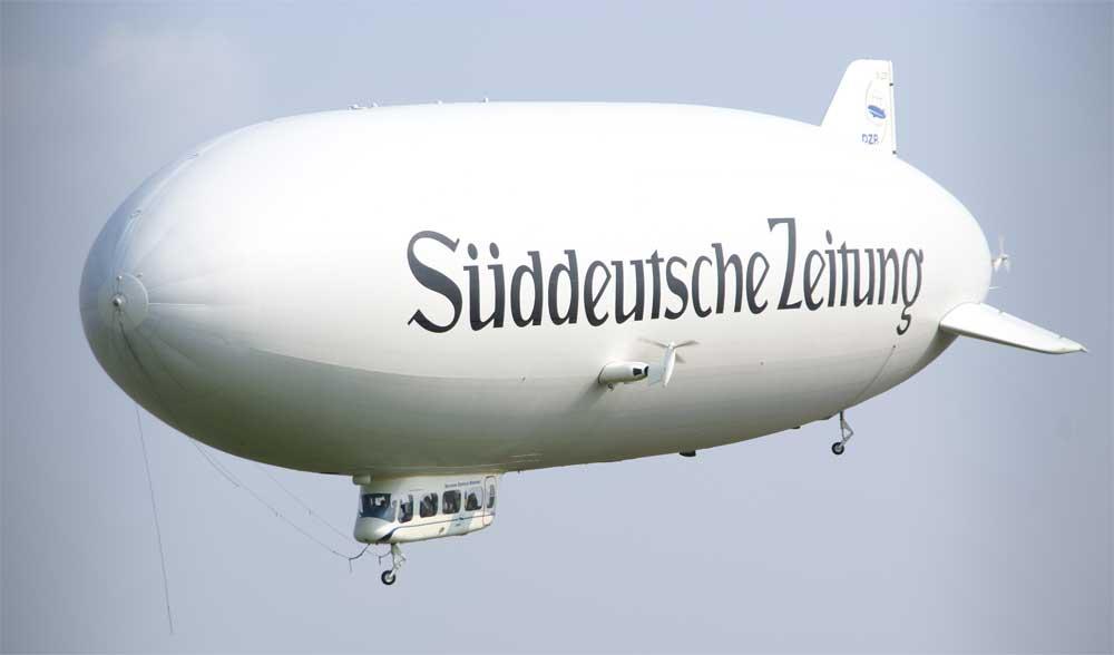 Zeppelin über München