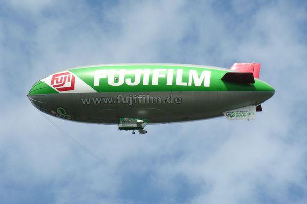 Zeppelin über Oberhausen