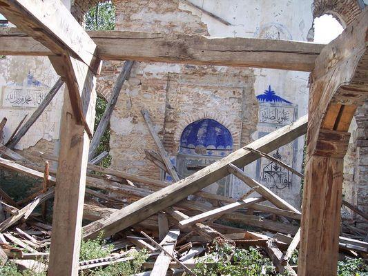 zerfallene Moschee