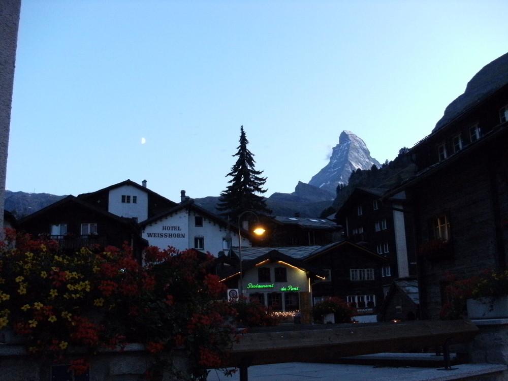 Zermatt am Abend...