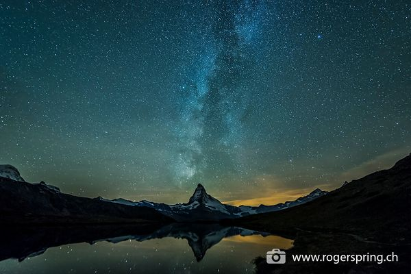 Zermatt Nachthimmel