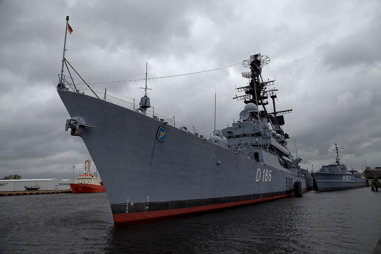 Zerstörere Mölders im Deutschen Marinemusuem Wilhelmshafen.