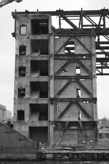 Zerstörter Palast