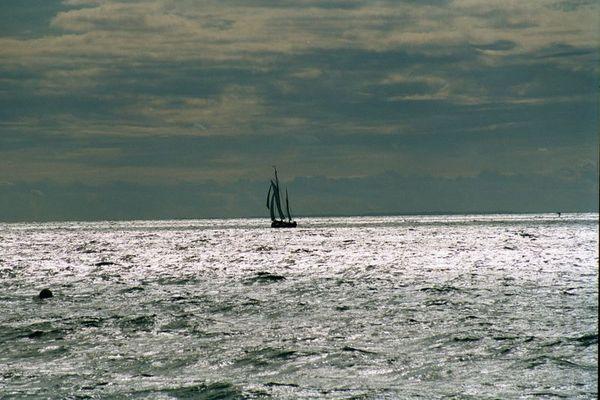 Zesenboot auf dem Bodden