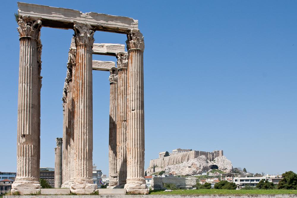 Zeus --> Pallas Athene