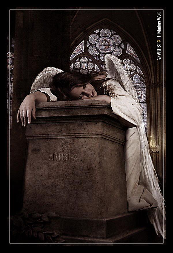 Zharah als Angel Of Grief