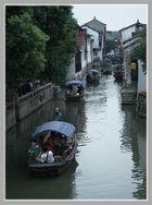 Zhouzhuang et ses canaux navigables