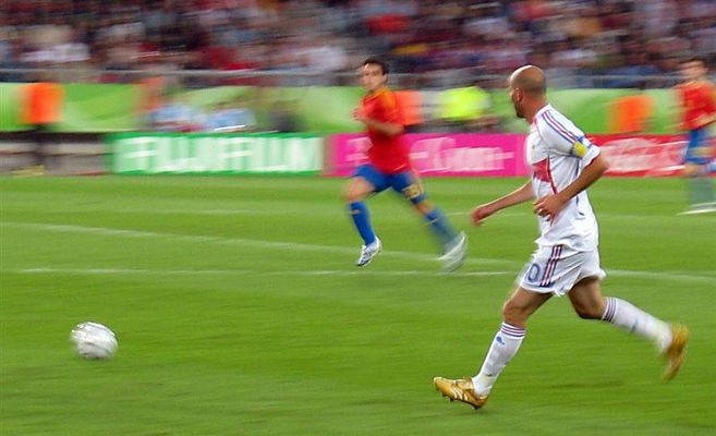 Zidane im Achtelfinale gegen Spanien
