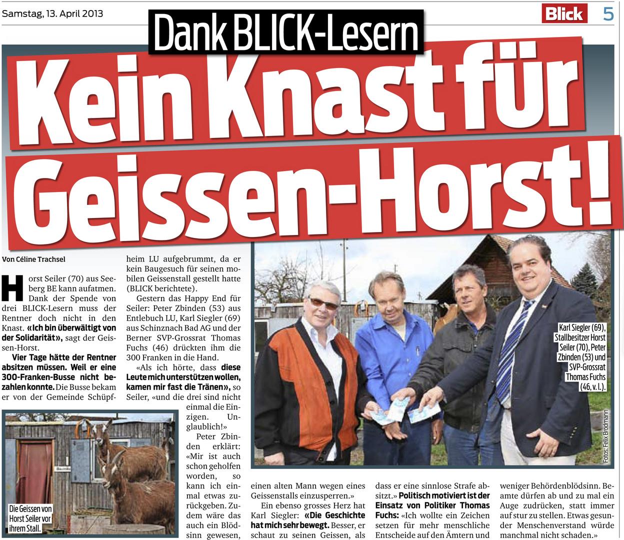 Ziegen-Horst