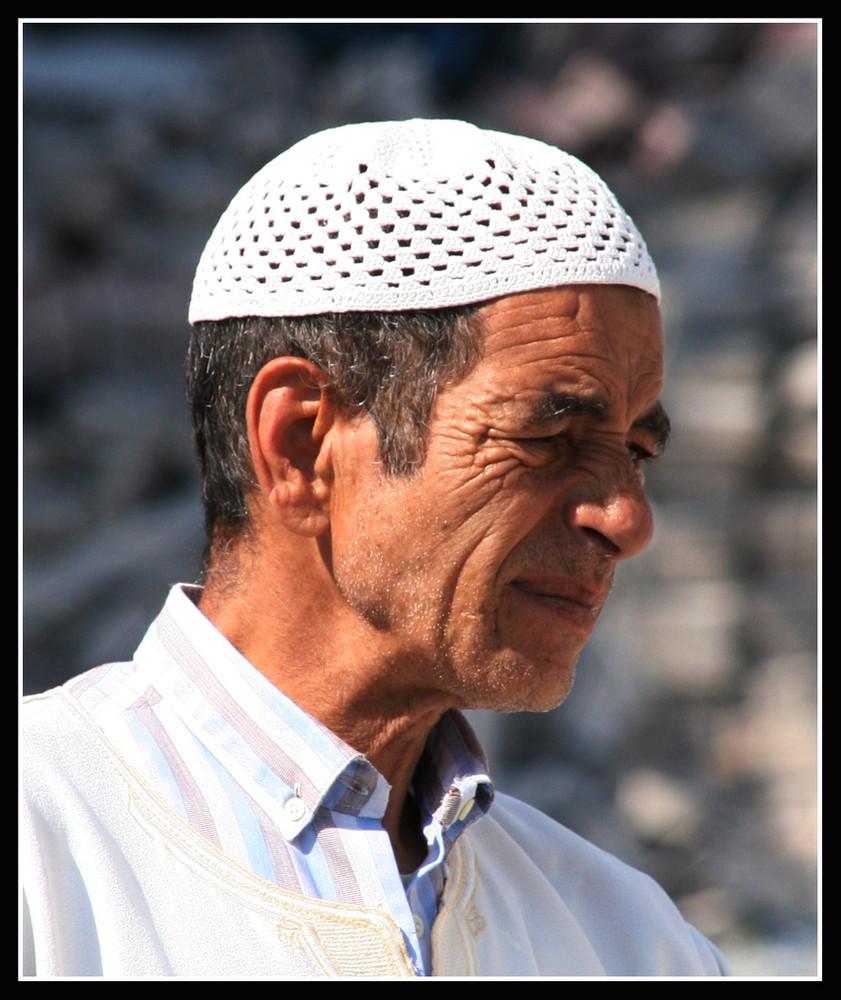 Ziegenhirt in Marokko