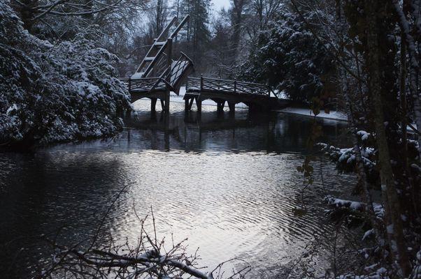 Ziehbrücke, Schloss Landhuet Utzenstorf