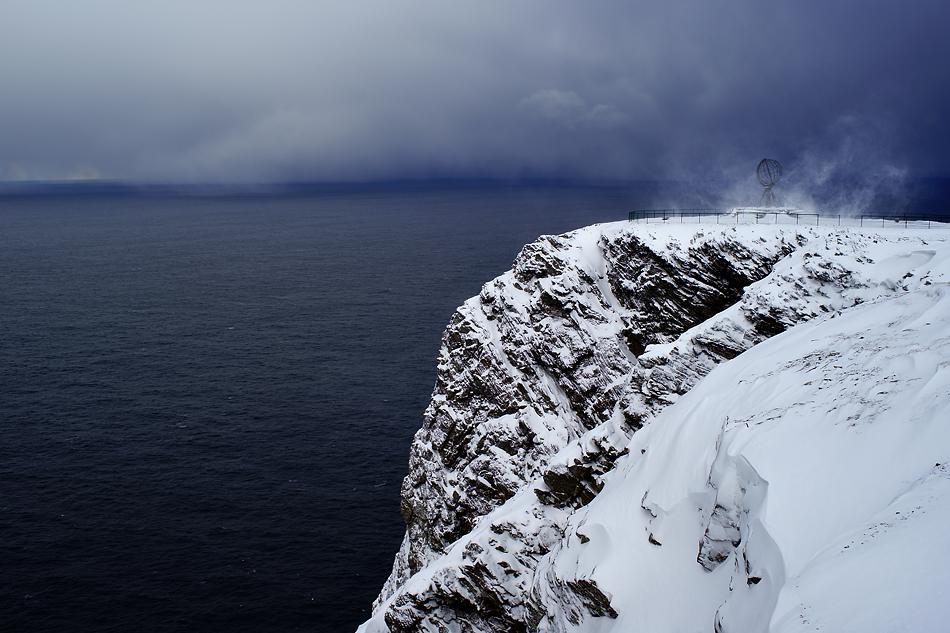 Ziel erreicht - Unterwegs zum Nordkapp im Winter -