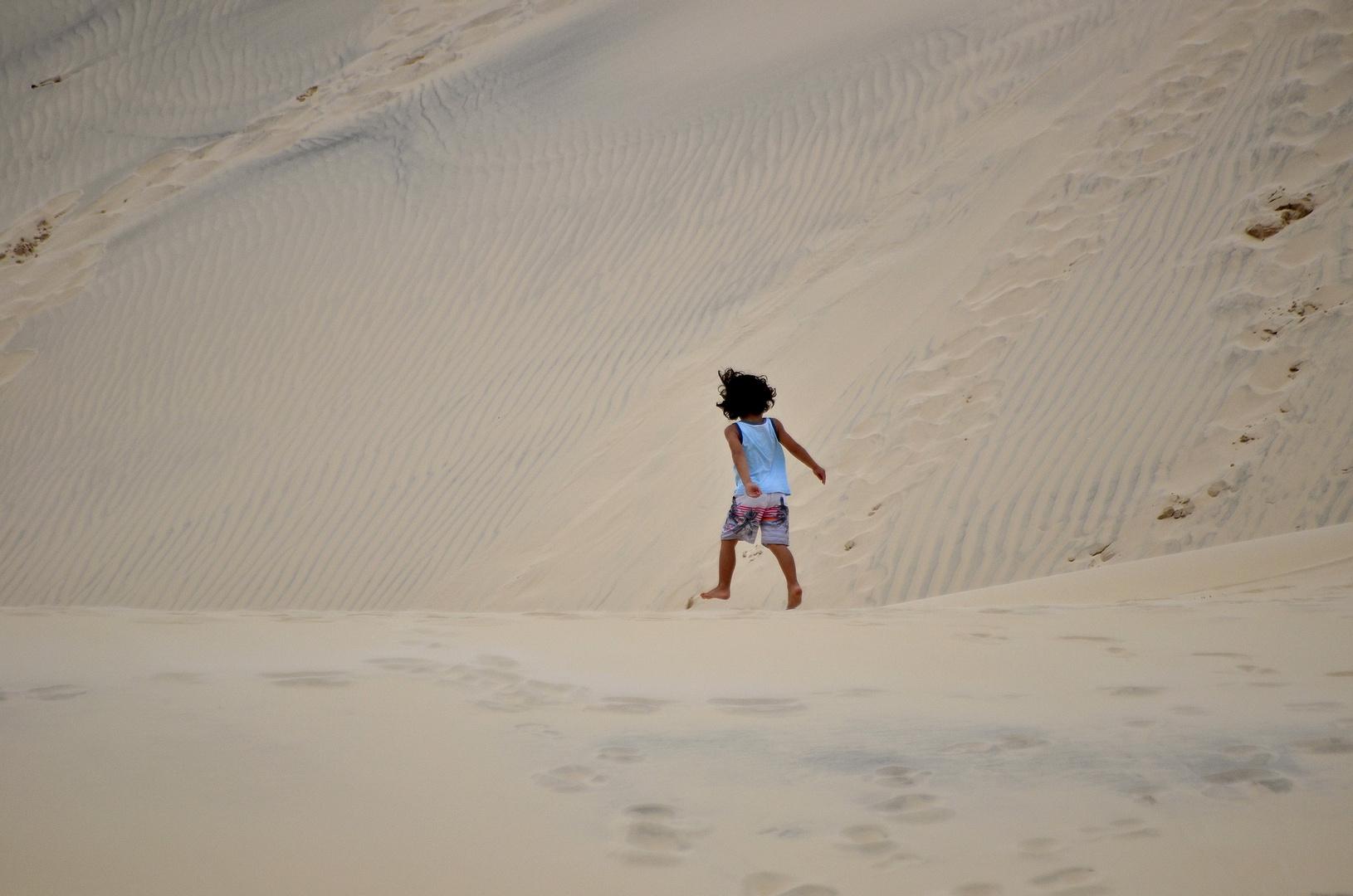 Ziemlich große Sandkiste
