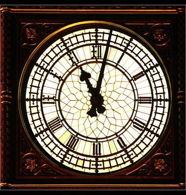 Ziffernblatt von Big Ben