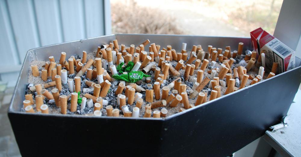 Zigarrettenkunst