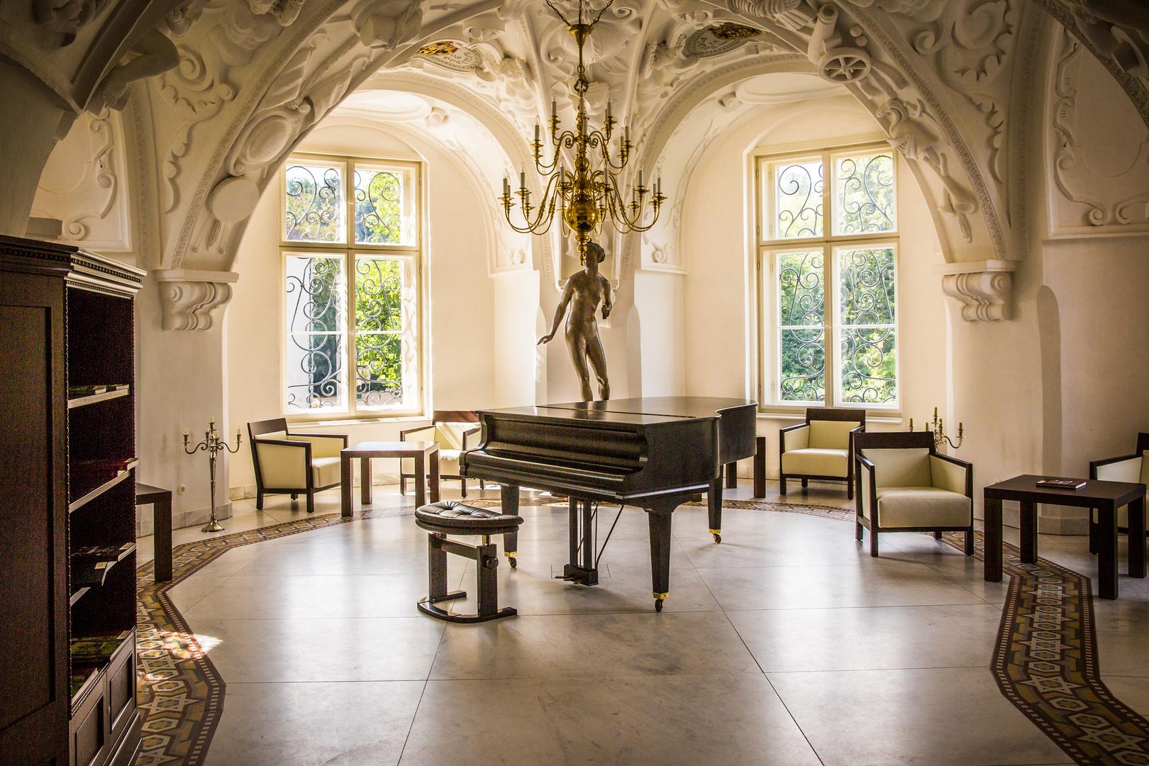 Zimmer im Fürst Pücklerschloß