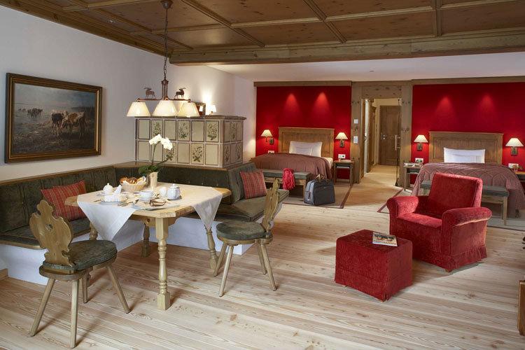 Zimmer im Luxushotel