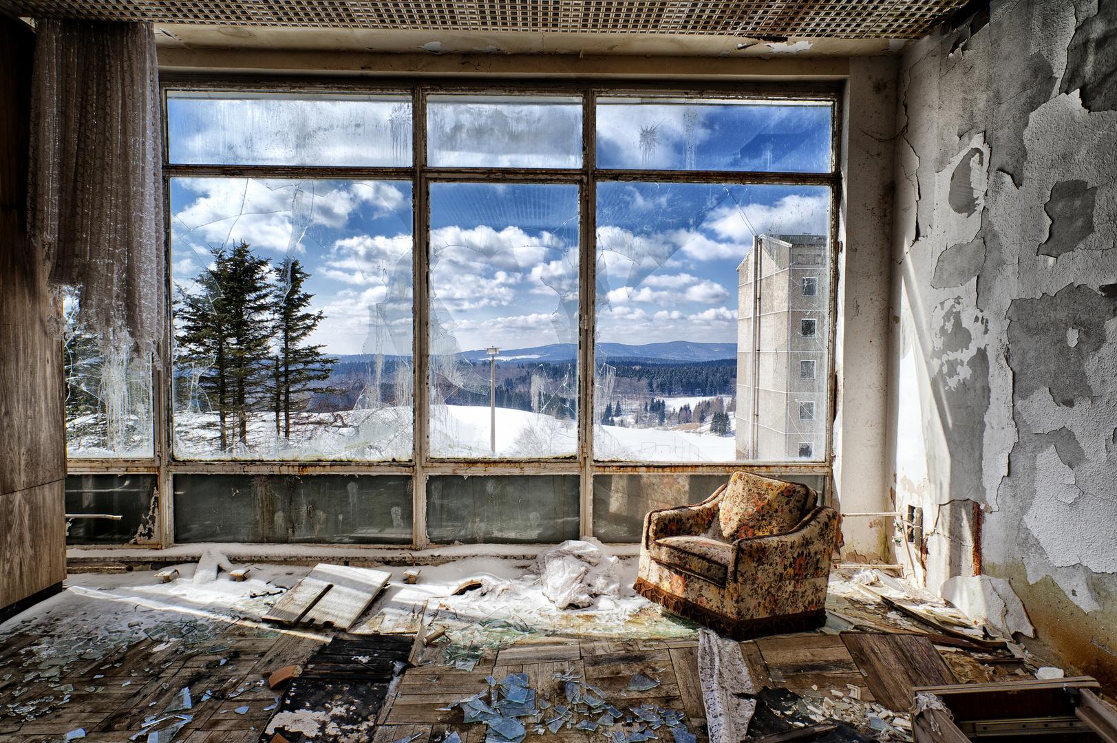 Zimmer mit aussicht foto bild architektur lost places for Zimmer mit aussicht