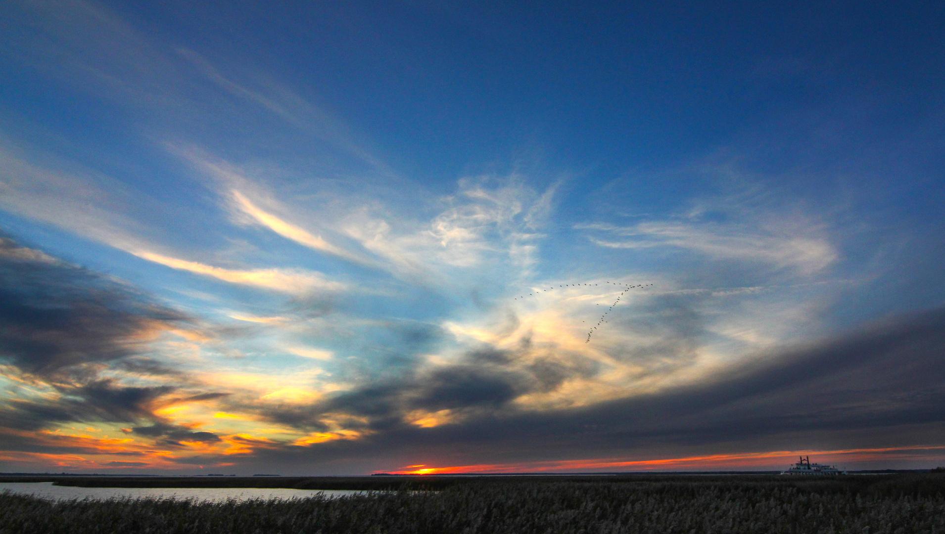 Zingst Sonnenuntergang