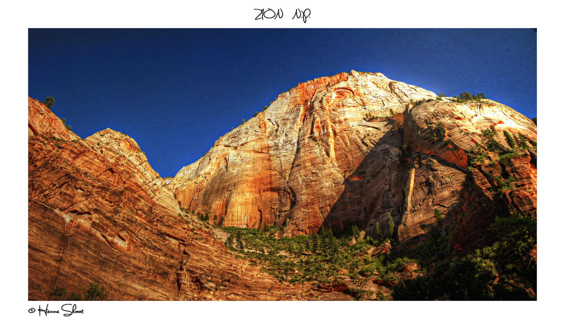 Zion National Park II 2012