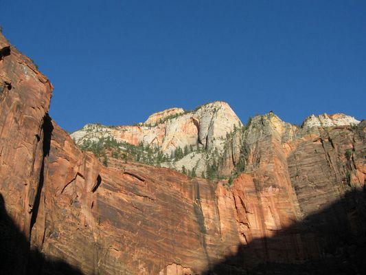 Zion National Park - Sonnenuntergang