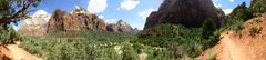 Zion National Park, Utah from Kayento Trial