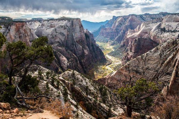 Zion National Park vom Observation Point aus gesehen