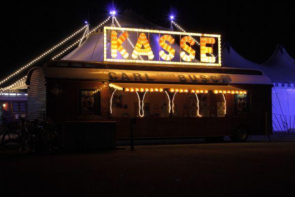 Zirkus Carl Busch, Karlsruhe Messplatz