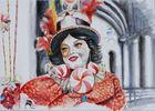 Zirkusmädchen in Venedig