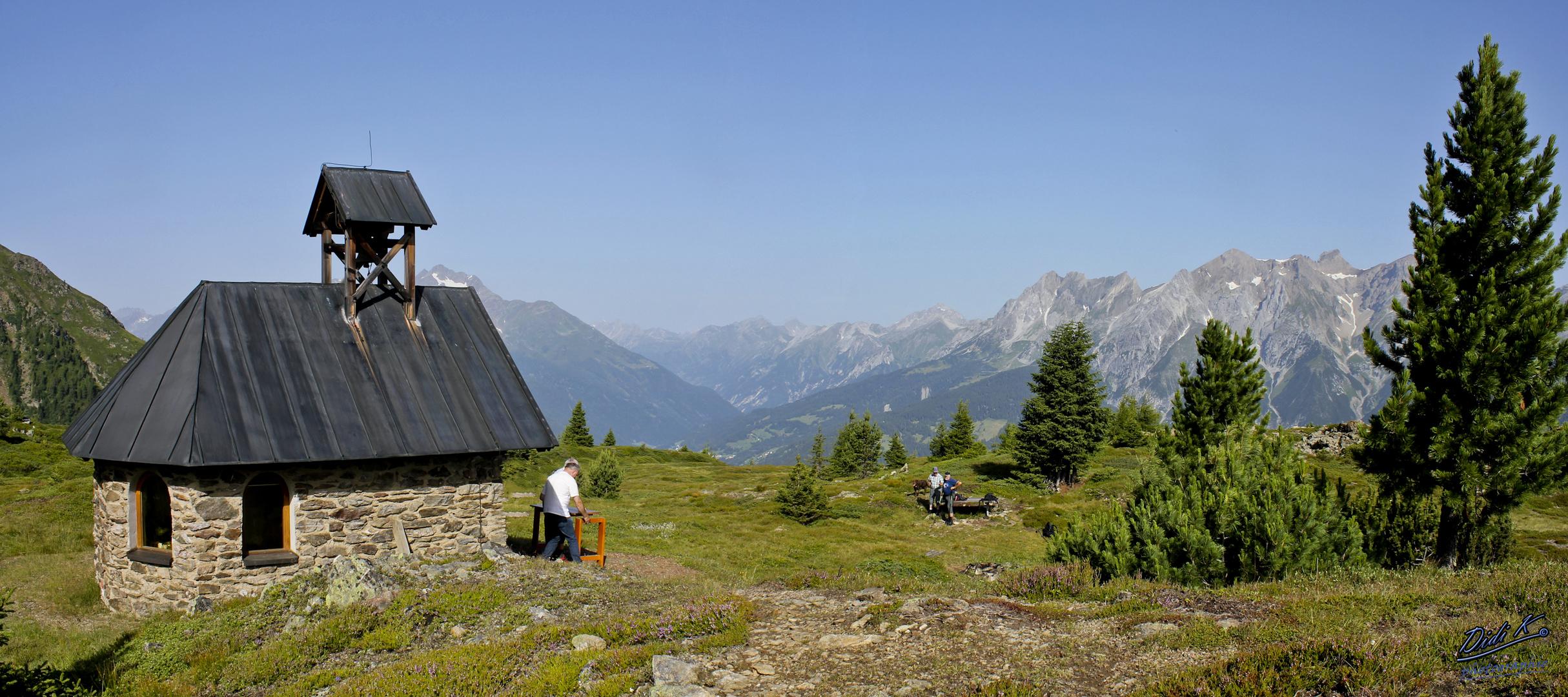 Zirmegg Kapelle - August 2013