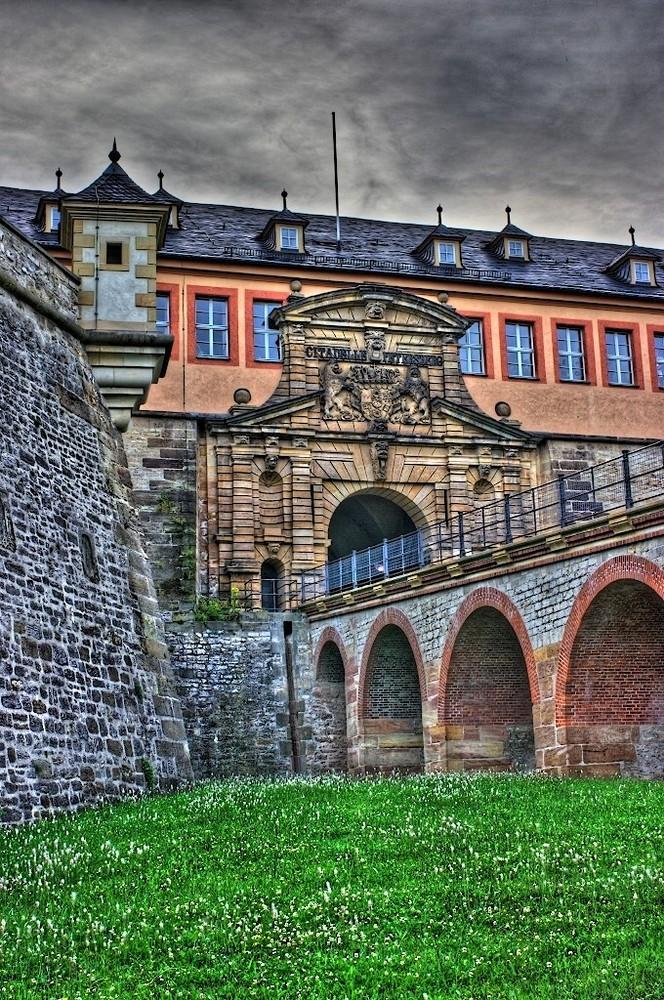 Zitadelle Petersberg in Erfurt- ein HDR Versuch